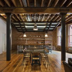 Exposed Joist Design Ideas, Pictures, Remodel, and Decor