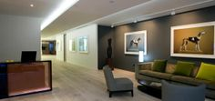 Modern Commercial Office Interior Design of Artemis Investment Management, London UK - Green Living Home