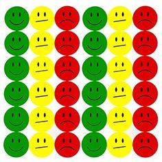 Oblique Unique® 180 Smiley Face Sticker ø - Lächeln (Gün) - Neutral (Gelb) - Traurig (Rot) Chores For Kids, Activities For Kids, Smiley Sticker, Token Economy, Wall Clips, Routine Chart, Face Stickers, Behaviour Chart, Classroom Behavior