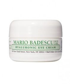 Mario Badescu Hyaluronic Eye Cream: Dermatologists agree: Nothing smooths—and soothes—dry under-eye skin better.