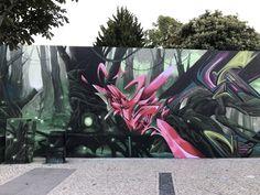 Acer. graffiti, street art, 3d