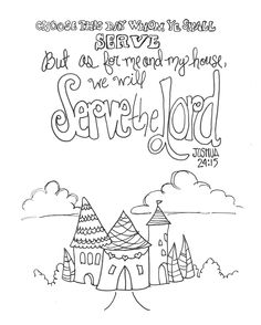 joshua 24 coloring pages - photo#8