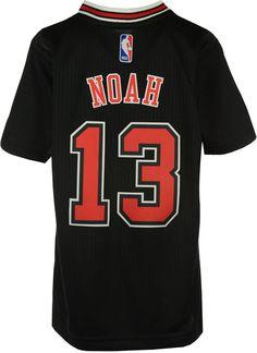 adidas Boys' Joakim Noah Chicago Bulls Swingman Jersey