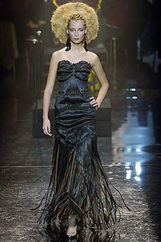 Jean Paul Gaultier Spring 2005 Couture Fashion Show - Tiiu Kuik