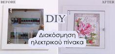 διακόσμηση ηλεκτρικού πίνακα με decoupage Decoupage, Before And After Diy, Diy And Crafts, Blog, Home Decor, Pink, Decoration Home, Room Decor, Interior Decorating