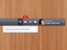 Navbar-header-right-user-ui http://dribbble.com/shots/279408-Header-Navigation-Right-Side-UI