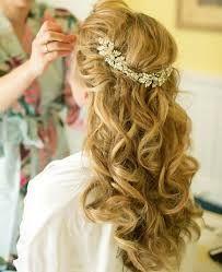 Bilderesultat for bride hairstyle long hair