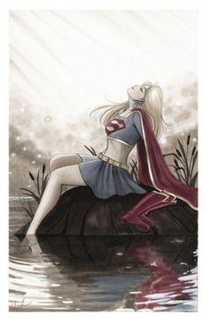 Supergirl by Lynne Yoshii