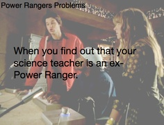 Power Rangers Problems