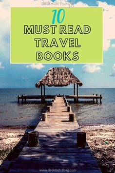The Best Travel Books Ever Written - Get Inspired and Get Out There. Whether you're traveling the world now or stuck at home waiting for your next vacation, these travel reads will inspire, inform, and possibly change the direction of your life. Definitely take the time to pick up at least a few of these great books! #travelbooks #travelwriting #literature #reading #books #bookstoread #travelbooksideas #booksideas Great Places, Places To See, Places To Travel, Travel Destinations, Books To Read, Reading Books, Reading Lists, Best Travel Books, Life Quotes Pictures