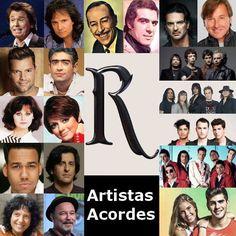 Artistas con R (Lista)