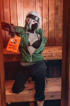 Cosplay Anime Costume [Self] Female Kakashi by Ri Care