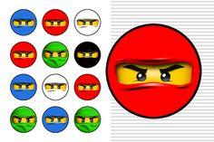 Imprimibles para fiesta de Ninjago 2. - Ideas y material gratis para fiestas y celebraciones Oh My Fiesta!