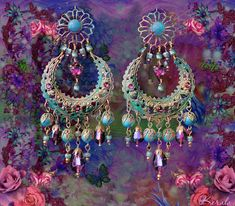 Hey, I found this really awesome Etsy listing at https://www.etsy.com/listing/196531973/large-exotic-moroccan-moon-earrings