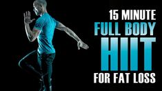 15 Minute HIIT Workout at Home NO Equipment - HIIT Workout for Fat Loss - YouTube
