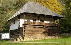 """Traditional houses in rural Romania (case traditionale romanesti) *** Upon arriving in her new home country in the young wife of Prince Carl of Romania noticed in her writings: """"Every R… Romania People, Village Photography, Nature Photography, Travel Photography, Vernacular Architecture, House Architecture, Rural House, Unusual Homes, Rustic Modern"""