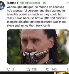 Picture memes — iFunny ioannes Hollie Baker'xddlestomas we thought loki gm the muzzle on because he's a powerful Marvel Avengers, Marvel Jokes, Marvel Girls, Funny Marvel Memes, Dc Memes, Avengers Memes, Marvel Dc Comics, Loki Funny, Loki Meme