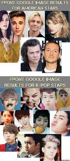 Why kpop is better then American pop #1: | allkpop Meme Center
