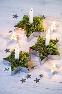 Hobby: ozdoby na choinkę Christmas Candles, Christmas Decorations, Table Decorations, Christmas Time Is Here, Winter Christmas, Xmas Crafts, Diy And Crafts, Party Time, Candle Holders