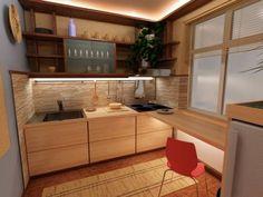 Очень маленькая кухня в Хрущевке
