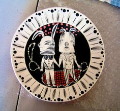 another cute Jenny Mendes plate...