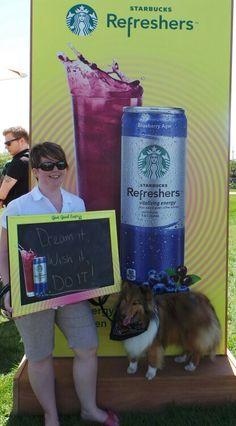 Dream it, Wish it, Do it! #Woofstock #StarbucksRefreshers