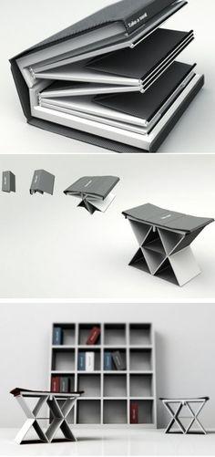 Coup de cœur - Take a seat, la chaise pliable qui passe inaperçue
