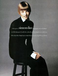 ☆ Linda Evangelista: Harper's Bazaar, Oct, 1993 ☆