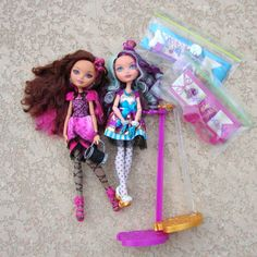 Briar Beauty Madeline Hatter Ever After High Mattel Doll 2013 Fairy Tale #Mattel #DollswithClothingAccessories