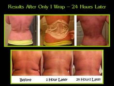 It works Body wraps! Great results Get them wholesale! http://bodycontouringwrapsonline.com/wholesale