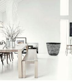 Scandinavian Design Inspiration #scandinavian #interiordesign