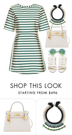 """Untitled #4571"" by thestyleartisan ❤ liked on Polyvore featuring Hermès, Joomi Lim and Acne Studios"
