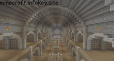 Huge Library (half this) Minecraft Kingdom, Minecraft Castle, Minecraft Medieval, Minecraft Plans, Minecraft Blueprints, Minecraft Decorations, Minecraft Crafts, Minecraft Designs, Minecraft Structures