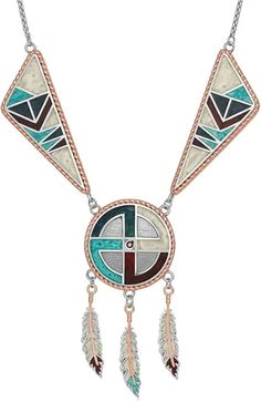 Inspired by the resilience of American legends, this geometric and colorful collection catches the eye. Turquoise, Ruby, and cream crystals are bonded together in a dance of sparkle and rose gold roping. This collection features an array of earrings and necklaces to showcase the American Legend in us all.