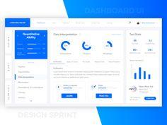 Dashboard UI designed by Milan Maheshwari. Connect with them on Dribbble; Web Design, App Ui Design, Interface Design, Dashboard Interface, Dashboard Design, Online Dashboard, Wireframe Design, Desktop Design, App Design Inspiration