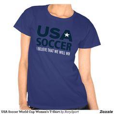 USA Soccer World Cup Women's T-Shirt