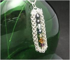 Chain Maille Patterns | MakintheBestOfIt or MBOI for short, is a wire wrap and chain maille ...