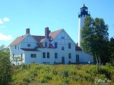 Point Iroquois Lighthouse, Brimley, Michigan ~ September 2012