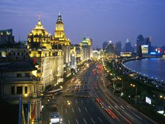 Shanghai. Very different from other cities of the PRC. Trendy, neon, and loads of shopping.