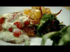 Gordon Ramsay prepares Escalopes of chicken with sauteed potatoes and red chard - The F Word