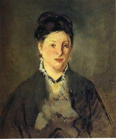Ritratto di Manet della moglie Suzanne Leenhoff.