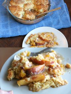 Peach & Cinnamon Southern Cobbler (tried and true)