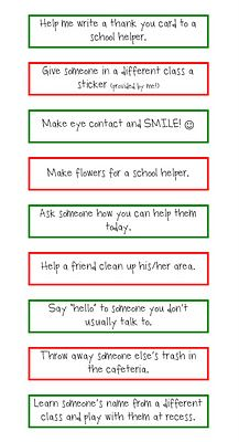 kindness ideas!