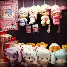 sanrio - sugar bunnies & little twin star