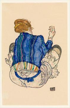 art,schiele,1917