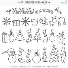 MTF Christmas Wish Doodles ·CU·