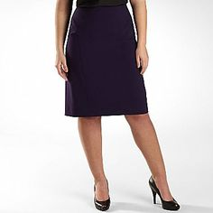 Worthington® Seamed Pencil Skirt - Plus - jcpenney