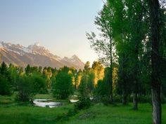 Jackson Hole Real Estate - Riverfront Ranch
