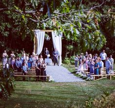 Ceremony at the Barn at Silver Oaks Estate