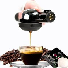 Portable Coffee Machine Hand Pressure Espresso Machine Outdoor Travel Manual Coffee Maker Black Coffee Cake Filter Product Name: Portable coffee maker Product Category: Kitchen AppliancesStyle: handpresso Espresso Machine Applicabl. Espresso Maker, Espresso Coffee, Espresso Machine, Coffee Machine Design, Portable Coffee Maker, Cheap Coffee, Salty Cake, Coffee Spoon, I Love Coffee